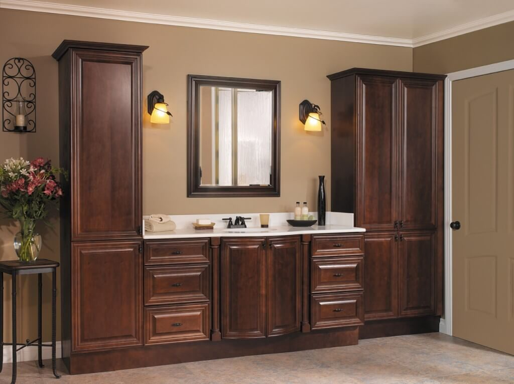 Craftsmen Home Improvements Inc Dayton OH Bathroom Cabinets Inspiration Bathroom Vanities Cincinnati